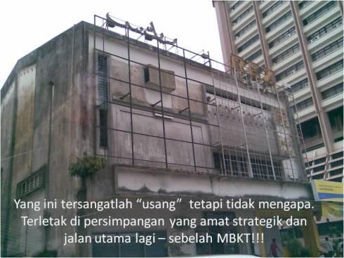 Rex usang sebelah MBKT