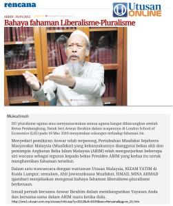 Utusan-bahaya liberalisme-pluralisme -UIMA