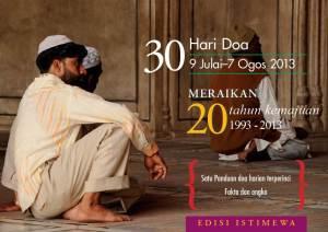 30-day prayer Kristian 2013