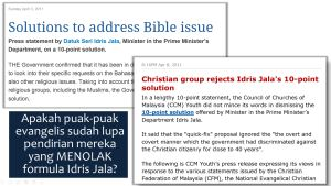 formula idris jala -CCM rejects