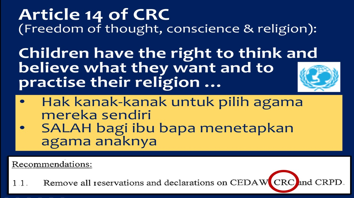 article 14-CRC