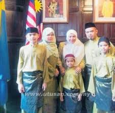 azizul shawati keluarga
