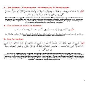 doa merangkumi-ismailahmed2