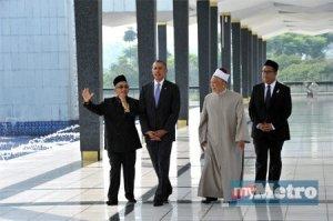 Obama-Masjid Negara