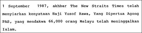 60000 melayu murtad-yusof rawa