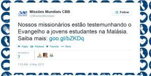 CBB-missionmundias - tweet Malaysia