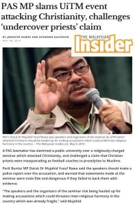Mujahad bela Evangelis