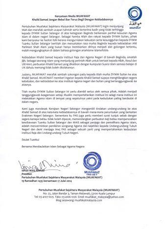 kenyataan akhbar-Muafakat-Sultan murka-17Jul2014