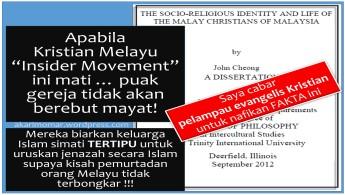 bila MelayuKristian mati