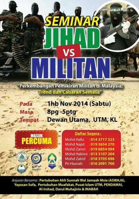 Seminar Jihad-Militan 1Nov2014