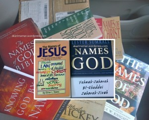 Christian Names of God