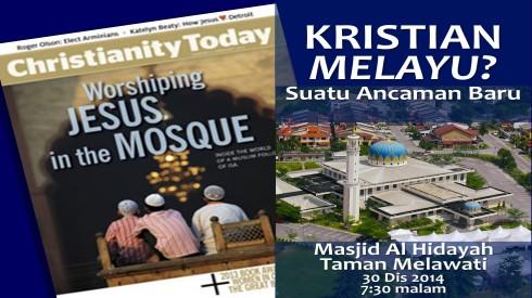 Kristian Melayu - masjid Hidayah Melawati2