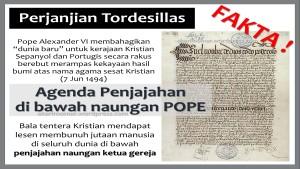 Tordesillas Lesen Kristian Membunuh