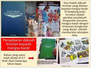 Banjir-dakyah Kristian-edar buku