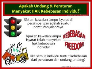 hak bebas-lampu isyarat