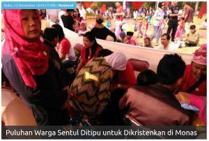 warga Sentul dikristen melalui pengobatan