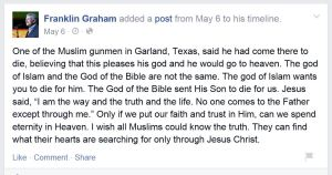 franklin graham FB