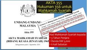 Akta 355 had 356