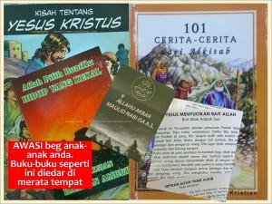 edaran buku kecil kristian