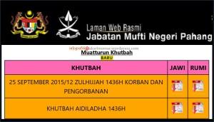 tekskhutbah-EidAdha-Pahang