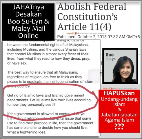 MailMailOnline-BooSL hapuskan Islam