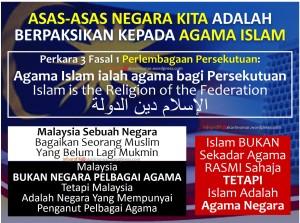 Islam Agama Negara