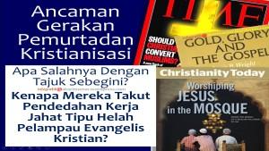 Kristian takut ceramah dedah agenda jahat mereka
