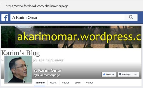Slika KLIK: http://www.facebook.com/akarimomarpage/