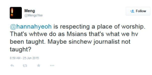 TwitterMeng-HannahYeoh-respectreligion-25Jun2015